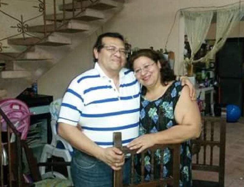 Los esposos Francisco Alpuche y Cristabela Briceño (Foto: Cortesia)