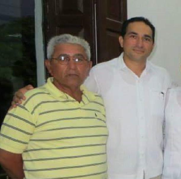 Jose Cortes y su actual asesor Daniel Rochel