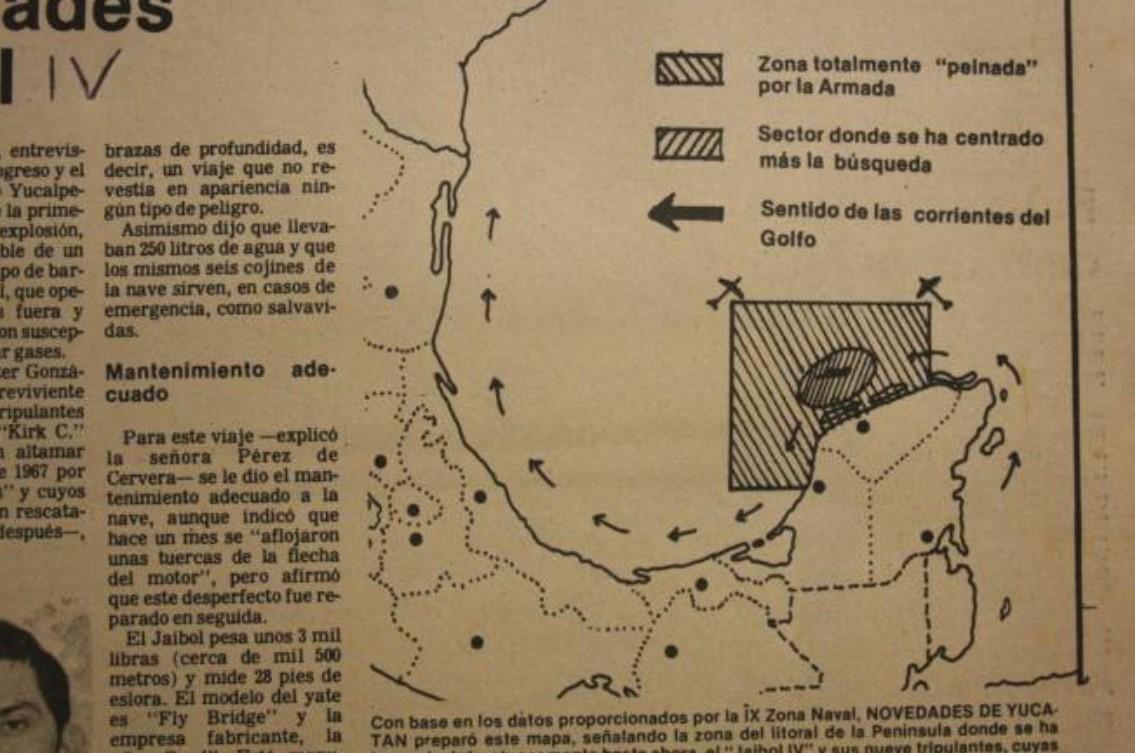 Se cumplen 30 años de la desaparición del yate High Ball IV, frente a  Progreso - ProgresoHoy