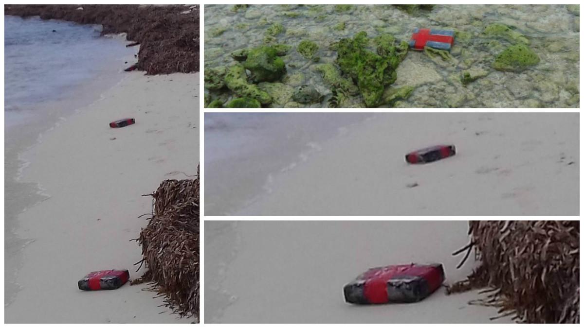 La Armada asegura nueve paquetes de cocaína en Arrecife Alacranes ...