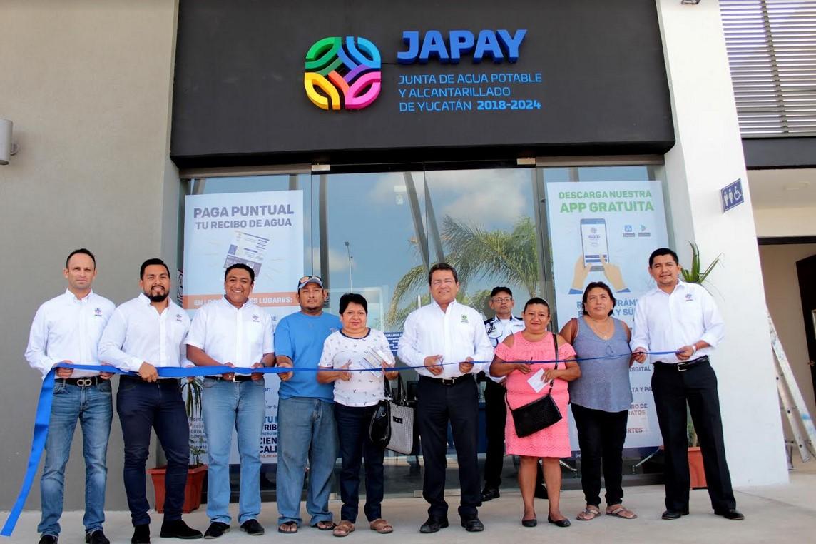 Inauguran Nuevo Módulo De La Japay En Fraccionamiento De